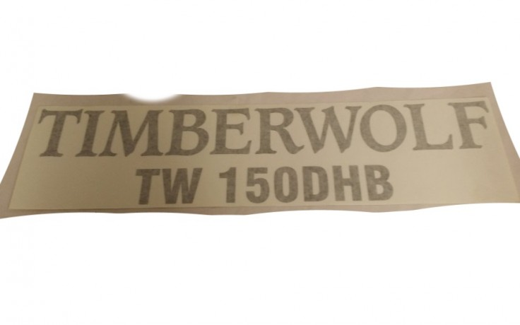 Decal/Sticker 'Timberwolf 150DHB' Combined
