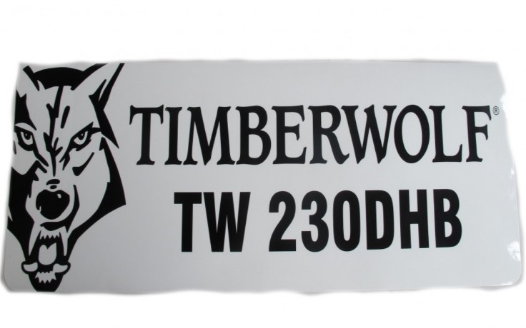 Decal / Sticker Combined Timberwolf 230DHB