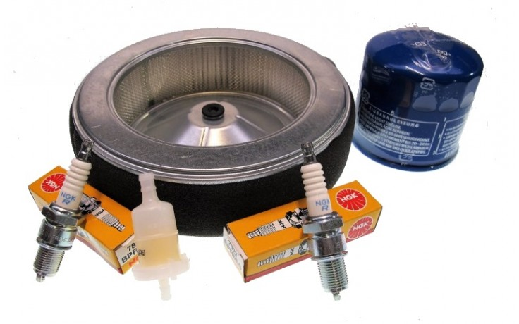 Honda GX630 Service Kit With Round Air FIlter