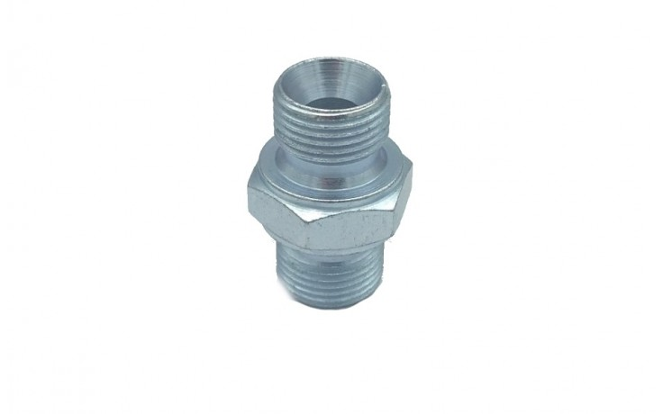 Hydraulic Motor Adaptor Male/Male 3/8 - 3/8