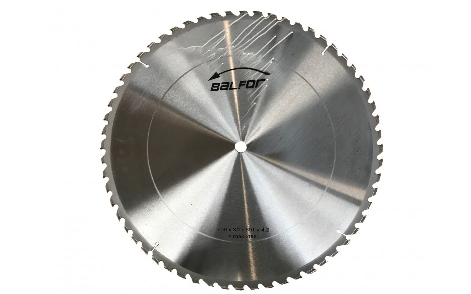 Geniune Balfor 700mm Tungsten tipped circular saw blade
