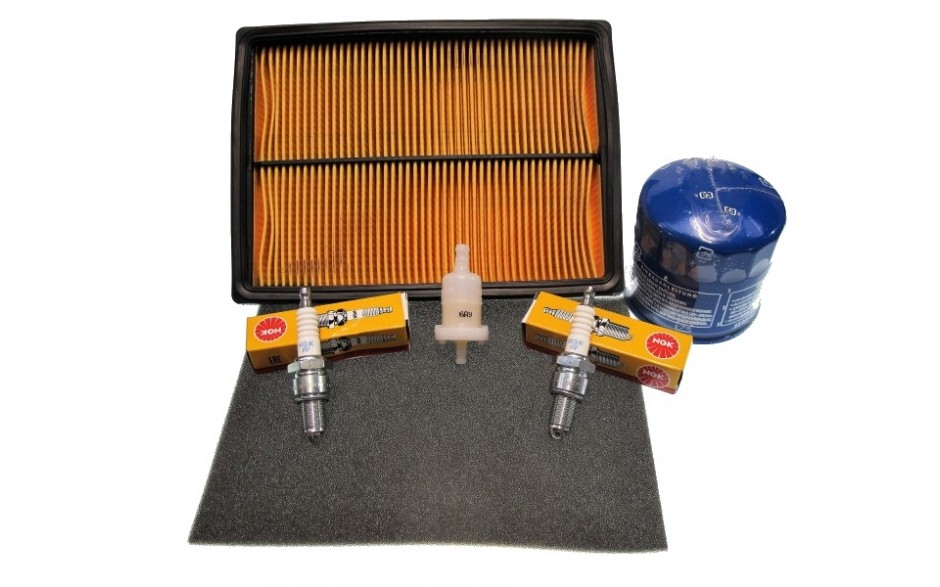 Honda GX620 Service Kit - With Square Air Filter