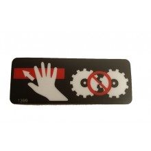 Decal/ Sticker - Safety Bar 'Push To Stop'