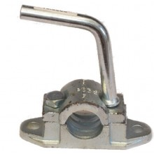 Bracket Clamp 48mm Cast Heavy Duty - Serrated Jockey Wheel