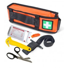 Arborists Harness/Belt Mounted Trauma Kit