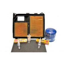 Honda GX630 Service Kit - With Square Air Filter (Hole Version)