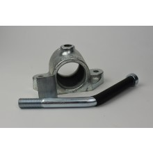 Jockey Wheel Clamp & Handle - 230